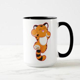Cute Happy Tiger Mug