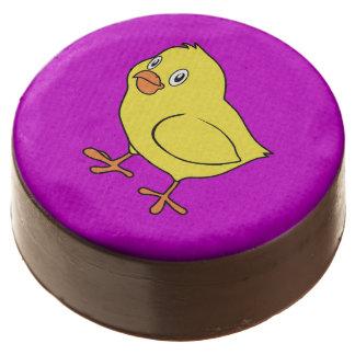 Cute Happy Yellow Chick Chocolate Covered Oreo