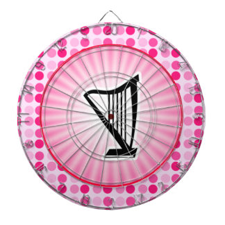 Cute Harp Dartboard
