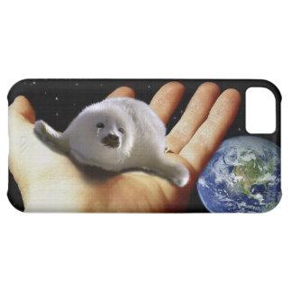 Cute Harp Seal Fantasy Art Wildlife-Supporter Case