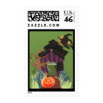 Cute Haunted House Stamps