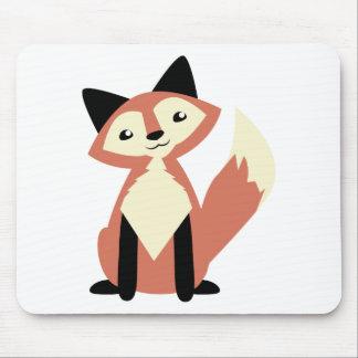 Cute Head-tilt Fox Mouse Pad