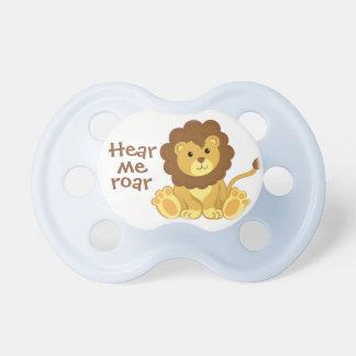 Cute Hear Me Roar Lion Pacifier