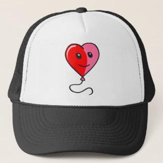 Cute Heart Balloon Trucker Hat