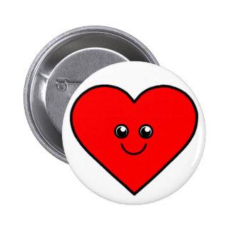 Cute Heart 2 Inch Round Button