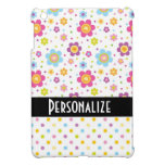 cute heart flowers and polka dots case for the iPad mini