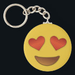 "Cute Heart for Eyes emoji Keychain<br><div class=""desc"">Cute Heart for Eyes emoji key-chains.</div>"
