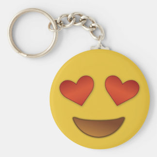 Cute Heart for Eyes emoji Keychain