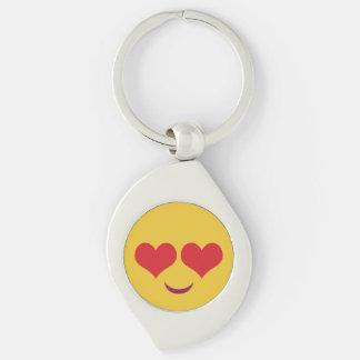 Cute Heart for Eyes emoji Keychain