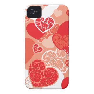 Cute Heart Pattern Case-Mate iPhone 4 Case