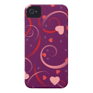 Cute Heart Pattern iPhone 4 Case-Mate Case