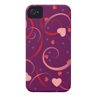 Cute Heart Pattern iPhone 4 Covers