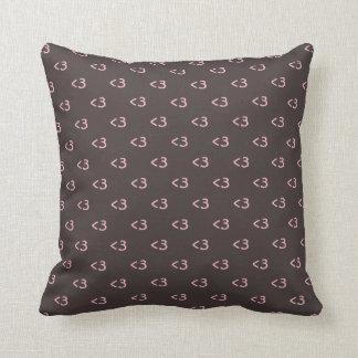 Cute Heart Throw Pillows