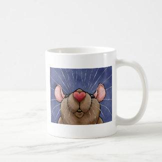 Cute Heart Rat Mug