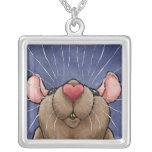 Cute Heart Rat Necklace