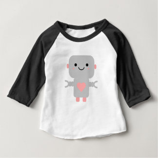 Cute Heart Robot Baby T-Shirt