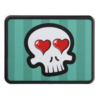 Cute Heart Skulls Cartoon Hitch Cover
