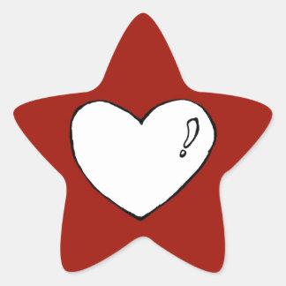 Cute Heart Star Stickers