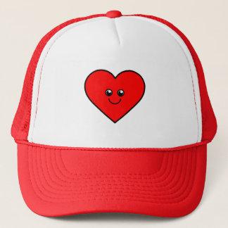 Cute Heart Trucker Hat
