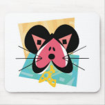 cute heart valentine mouse mouse mats