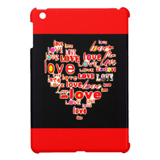 Cute Heart Valentine's Day Love Wedding Bride Case For The iPad Mini
