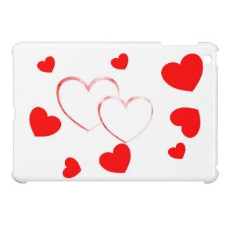 Cute Hearts - beautiful girly iPad Mini Case -