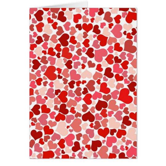 Cute Hearts Card