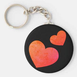 Cute Hearts Emoji Keychain