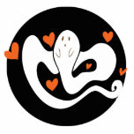 Cute Hearts Ghost Cut Outs