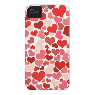 Cute Hearts iPhone 4 Case