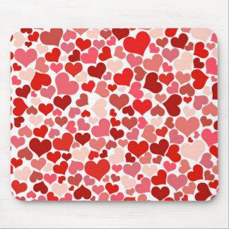 Cute Hearts Mousepad