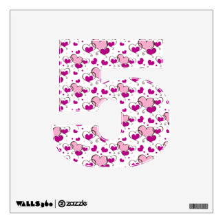 Sweet sixteen decorations wall decals sweet sixteen for Number 5 decorations