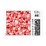 Cute Hearts Postage Stamps