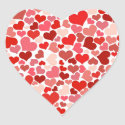 Cute Hearts Sticker