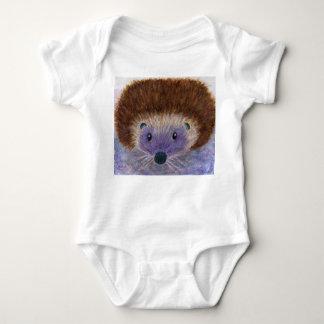 Cute Hedgehog baby toddler t shirt babygro birth