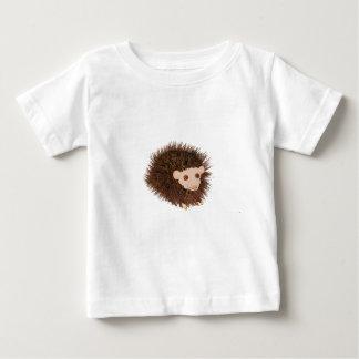Cute hedgehog Birthday add name Baby T-Shirt