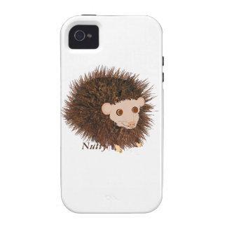 Cute hedgehog Birthday add name iPhone4 Case