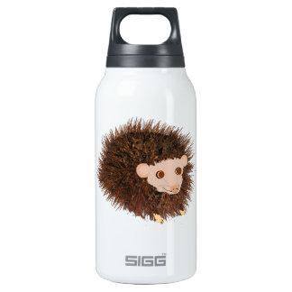 Cute hedgehog Birthday add name Insulated Water Bottle