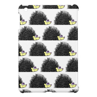 Cute Hedgehog Cartoon Pattern Cover For The iPad Mini
