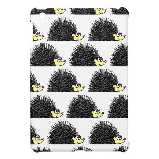 Cute Hedgehog Cartoon Pattern Cover For The iPad Mini