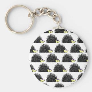Cute Hedgehog Cartoon Pattern Key Chain