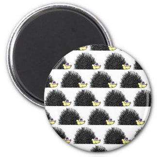 Cute Hedgehog Cartoon Pattern Fridge Magnet