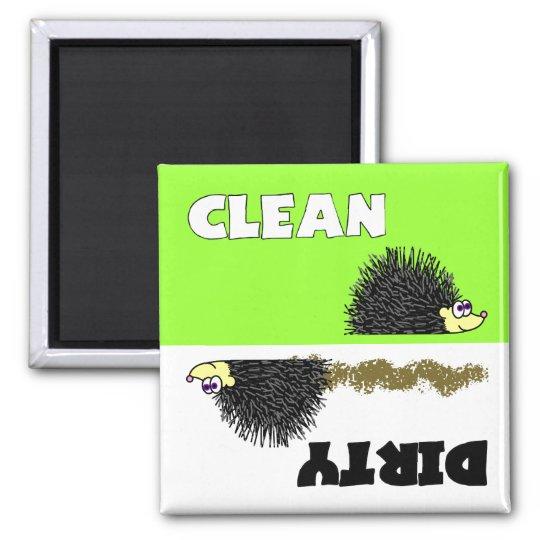 Cute Hedgehog Clean / Dirty Dishwasher Magnet