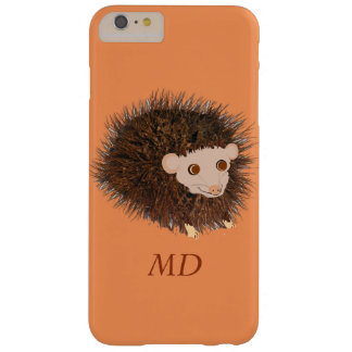 Cute hedgehog iPhone cases add name Barely There iPhone 6 Plus Case