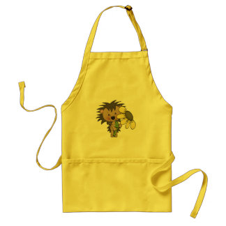 Cute Hedgehog kitchen cartoon apron