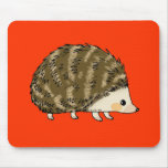 Cute hedgehog mouse pad