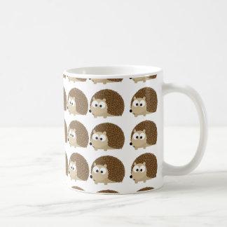 Cute Hedgehog pattern Classic White Coffee Mug