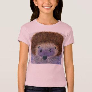 Cute hedgehog tshirt watercolour daughter birthday