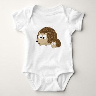Cute Hedgehogs Baby Bodysuit