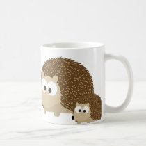 Cute Hedgehogs Coffee Mug
